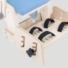 KDO_616 Footrest with 2 points feet stabilizing belts