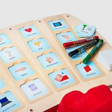 SLK_407 Tray for nonverbal communication