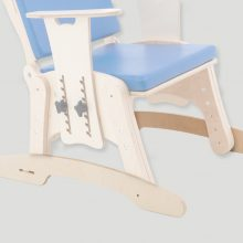 KDO/KDH_014 Skis / rocking chair