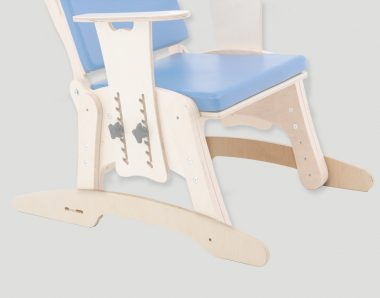 KDO_014 Skis / rocking chair