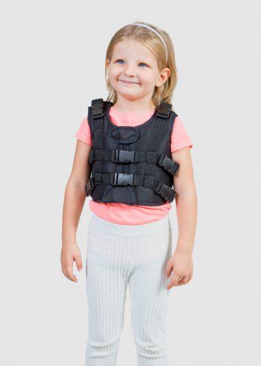 QRK_125 6 points safety vest (Hold & Pull system)